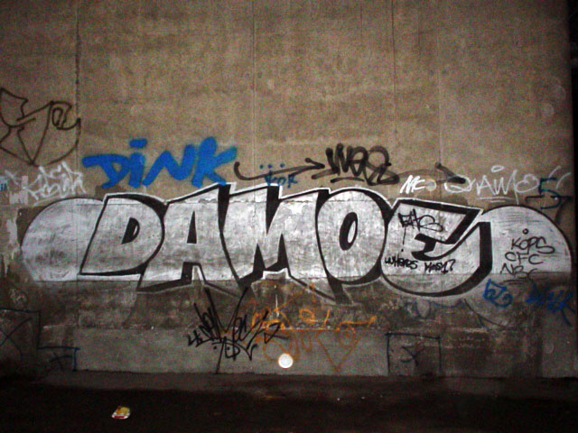 Damo TA Wall Nov 29 2003